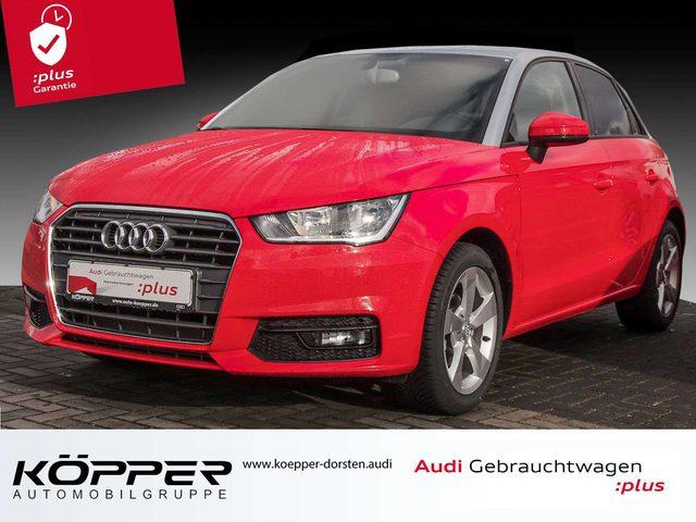 Audi, A1, Sportback 1.0 TFSI sport 0,99% FIN NAV-VORB DAB S