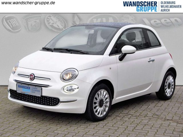 Fiat, 500, 1,2 8V Lounge Panoramadach, Klimaaanlage