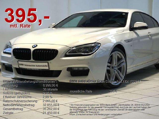 BMW, 640, d xDrive Gran Coupe Aut. M Sportpaket HuD/LED