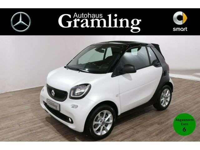smart, forTwo, cabrio 66 KW *passion*twinamic*Col&Audio*