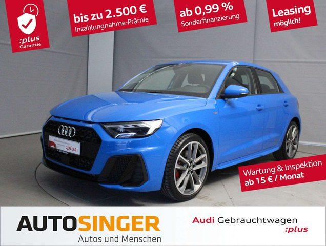 Audi, A1, Sportback S line 40 TFSI S tronic *Virtual*LED*Alu