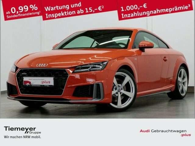 Audi, TT, Coupé 45 TFSI Q 2x S LINE LM19 LED NAVI+ S-SI