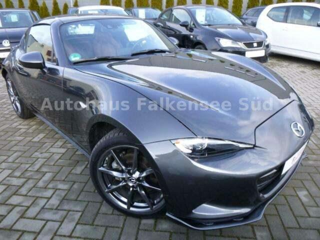 Mazda, MX-5, Sports-Line RF Autom. Navi/Leder/Sitzhz/Alu