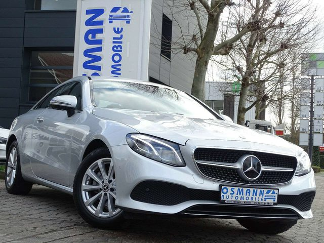 Mercedes-Benz, E 200, Coupe Avantgarde 9G-Tronic Widescrenn LED