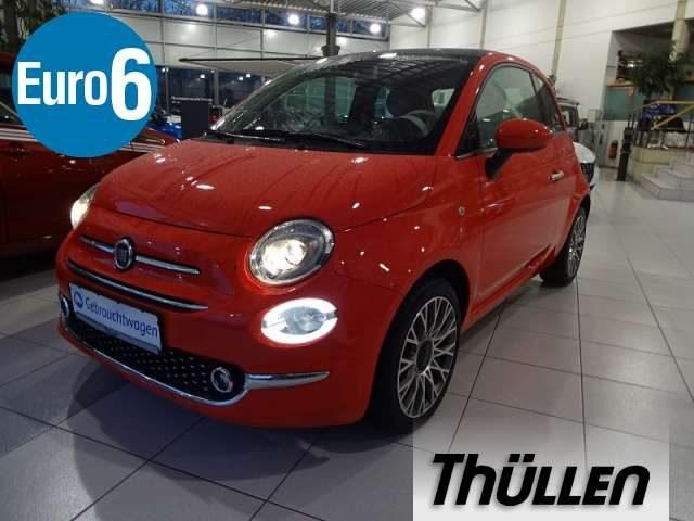 Fiat, 500, 1,2 8V Lounge 1,2 Klima, Glasdach, Bluetooth