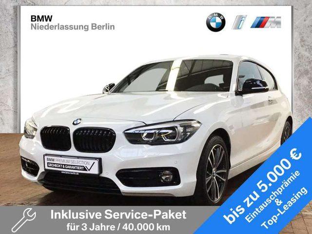 BMW, 118, i 3-Türer EU6d-Temp Edition Sport Line LED