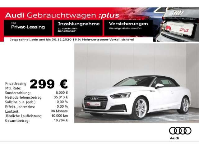 Audi, A5, Cabriolet 40 TDI S-line S-Tronic Alc./Virt.