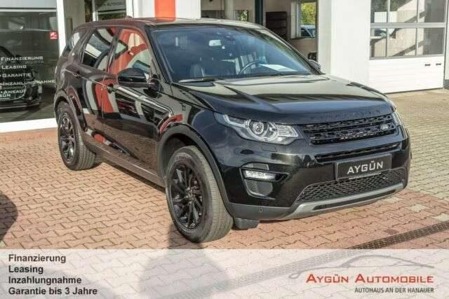 Discovery Sport, TD4 Aut. SE Black Pack - 7 Sitze