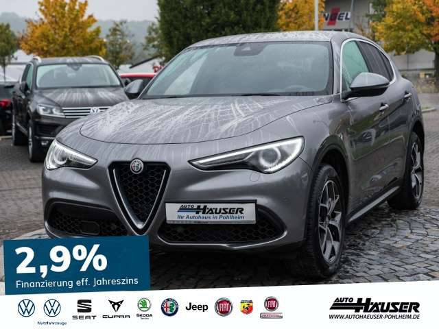 Stelvio, Super 2.0 Turbo AT8 Q4 VELOCE NAVI LEDER