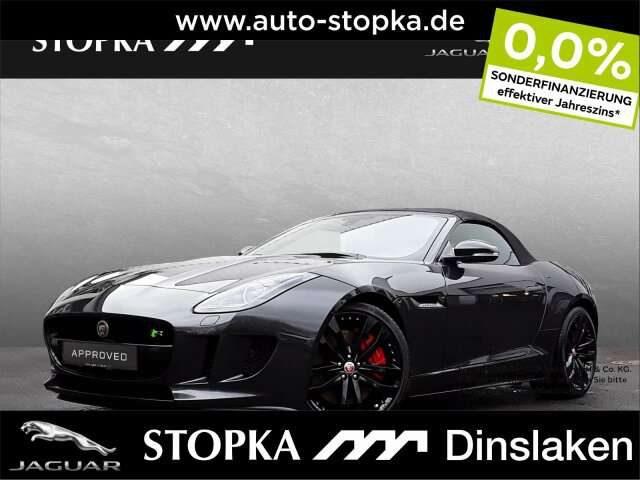 F-Type, 5.0 L V8 R Cabrio Black-P.* 0,00% Finanz* Leder