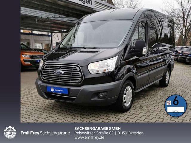 Ford, Transit, 350 L2H2 VA Autm. Trend Navi DAB 9-Sitze