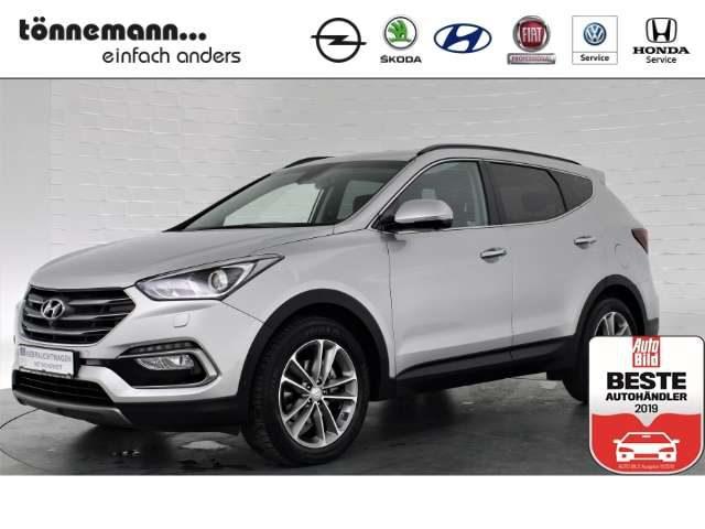 Santa Fe, Premium 4WD Automatik, Leder, Xenon-Schw., Around-