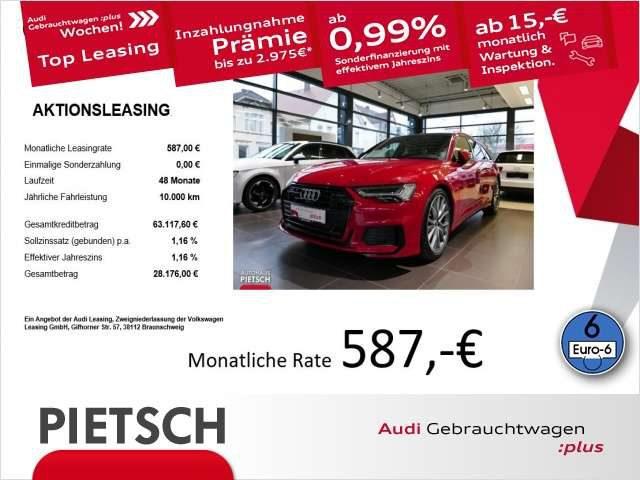 Audi, A6, Avant 50TDI Sport-S-line Pano Navi VR HUD ACC