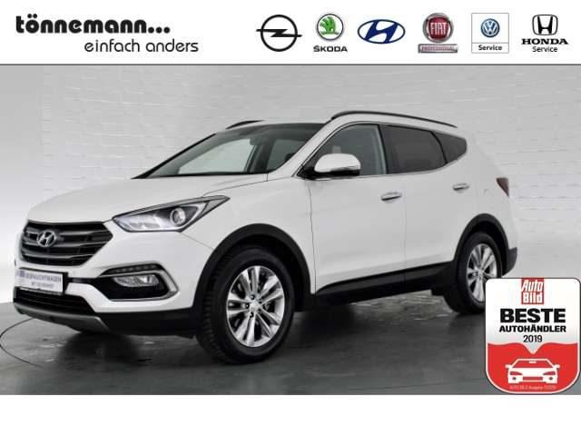 Hyundai, Santa Fe, Style 2WD AT, Leder, Navi, Freispr., Alufelgen, Pa