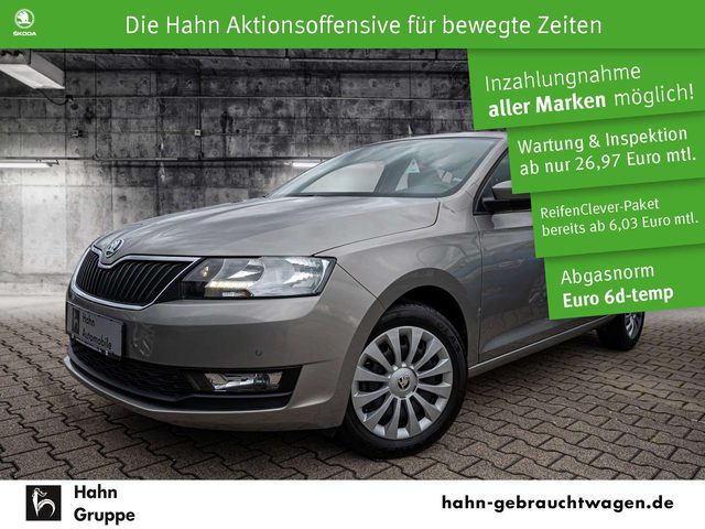 Rapid/Spaceback, Rapid Spaceback Ambition 1.0TSI DSG PDC SHZ GRA