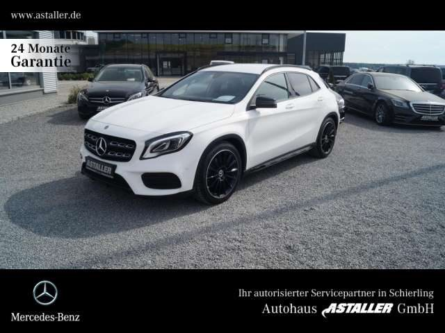 GLA 250, 4M AMGLine+Night+Navi+LED Hi+Kamera+19''+