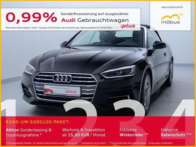 Audi, A5, Cabrio 40 TDI Sport S-TRO*SLINE*LED*NAV*GRA