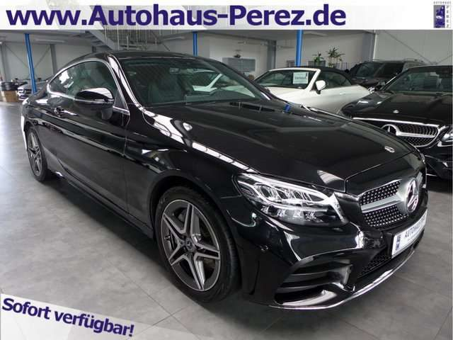 Mercedes-Benz, C 300, Coupe 9-G AMG NAVI-LED-ABGAS-AMBIENTE-360