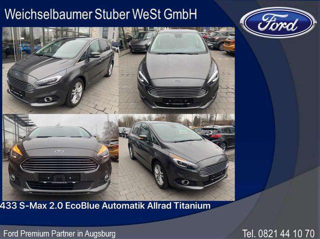 Ford, S-Max, 433 S-Max 2.0 EcoBlue Automatik Allrad Titanium