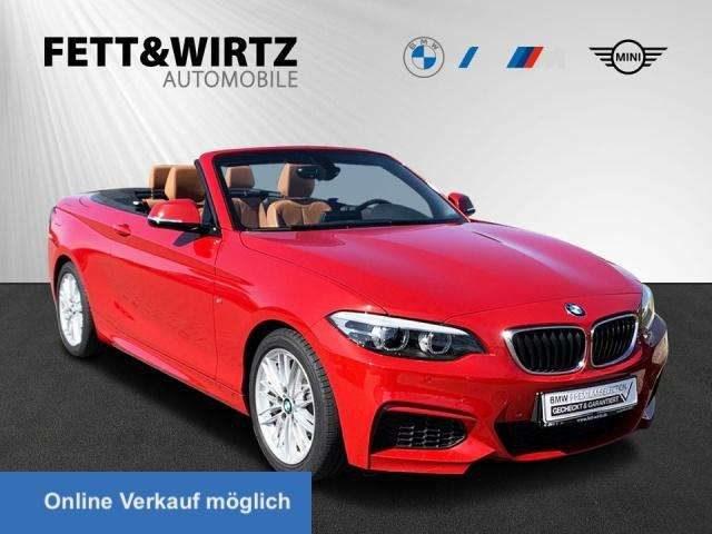 BMW, 218, i Cabrio Aut. MSport Navi Leder DAB HiFi