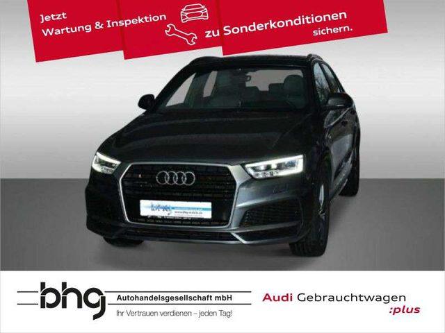 Audi, Q3, 2.0 TDI quattro Xenon/S line/Leder/Pano
