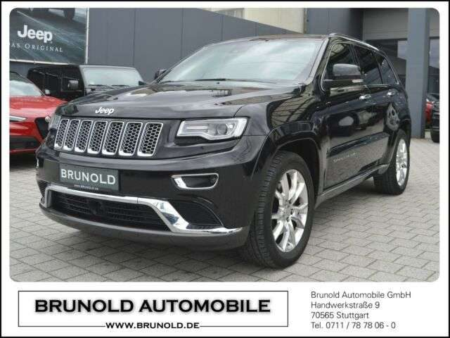 Jeep, Grand Cherokee, MY16 Summit 3.0l V6 MJet (250PS)