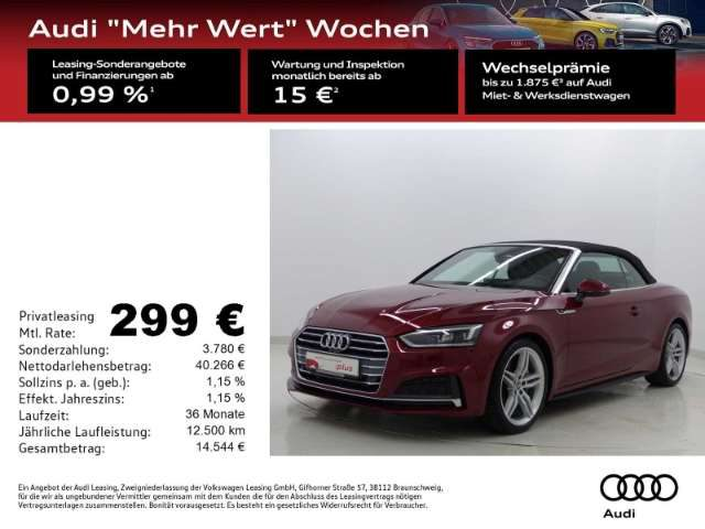 A5, Cabriolet 40 TDI S-line S-Tronic Alc./LED/NAV