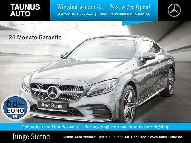 C 300, d 4M COUPE AMG-LINE COMAND PANO STH. HUD