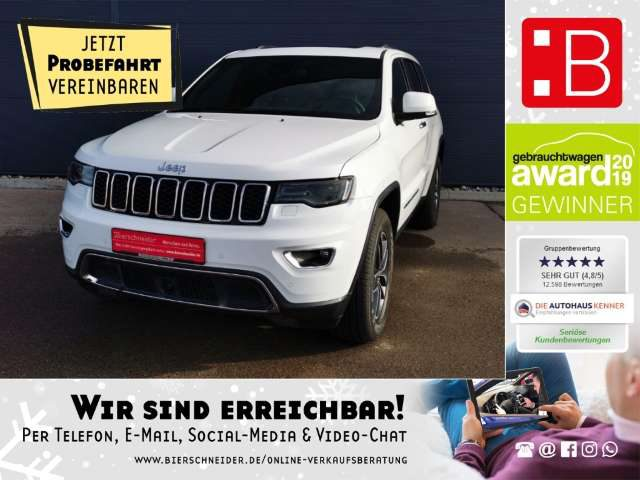 Jeep, Grand Cherokee, 3.0l V6 Automatik 4WD Limited LEASING 449,- EUR MT