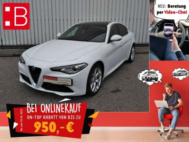 Giulia, 2.0 Turbo Super LEASING 359,- EUR MTL.*