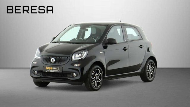 smart, forFour, 66 kW passion Pano.-Dach DAB EPH hinten