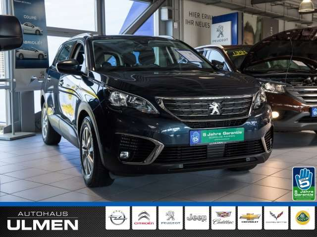 Peugeot, 5008, Active HDi 130 EU6d-TEMP 7-Sitzer Navigation Klima