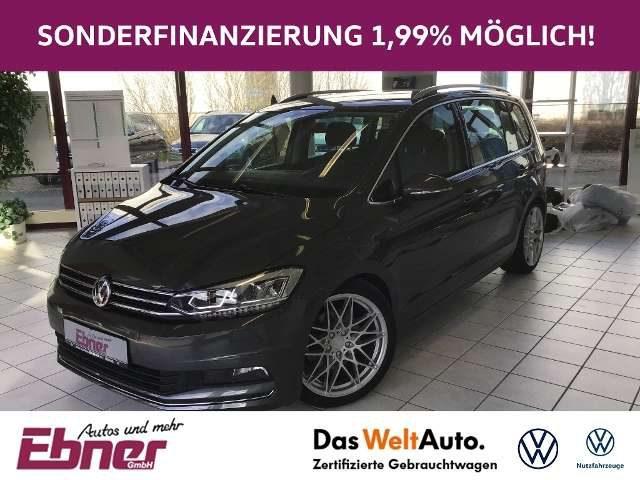 Volkswagen, Touran, SPORT Highline 2.0TDI 190PS EU6 DSG 7-SITZER,LED,