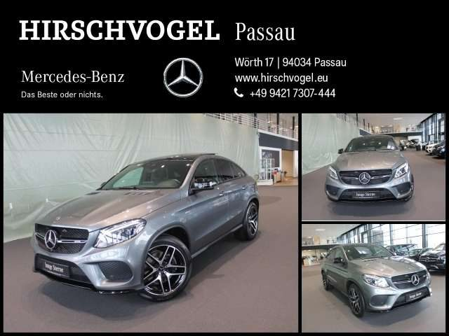 GLE 43 AMG, 4M Night+Pano+AHK+AIRMATIC+Comand+ILS