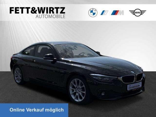 BMW, 420, d Coupe Adv. Aut. AHK GSD HUD Leder