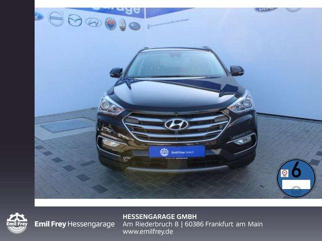 Hyundai, Santa Fe, blue 2.2 CRDI 4WD Automatik Premium