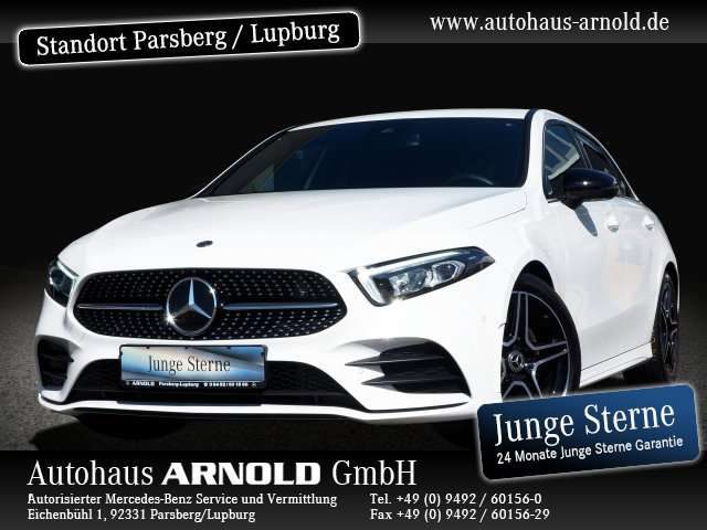 A 250, AMG Line Night LED Navi MBUX Sitzheiz. PTS Klima