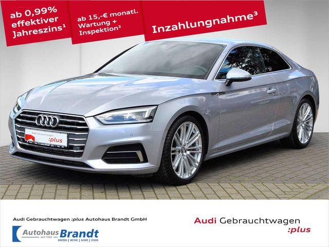 Audi, A5, Coupe 45 TFSI S-TRONIC*LED*NAVI+*ALCAN*HUD*KAMERA