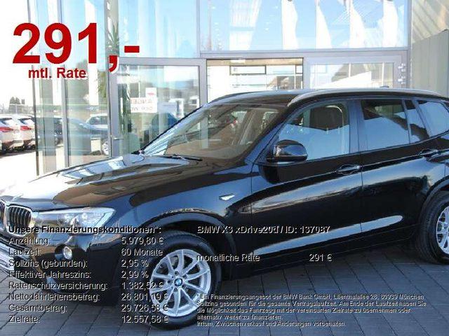 BMW, X3, xDrive20d AUT..NAVI.LEDER.HIFI.RFK