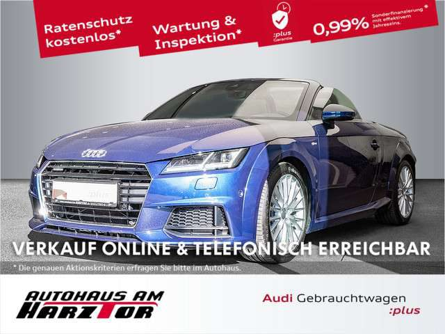 Audi, TT, Roadster 2.0 TFSI. S-line. Kopfraumheizung