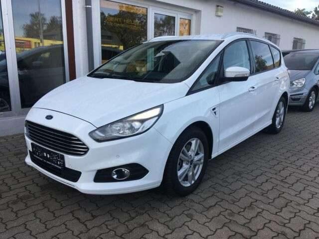 Ford, S-Max, EB165Ps Navi/SHZ/FSH/LMF/7 Sitze