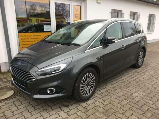 Ford, S-Max, Titanium 165Ps Navi/LED/7Sitze/LMF