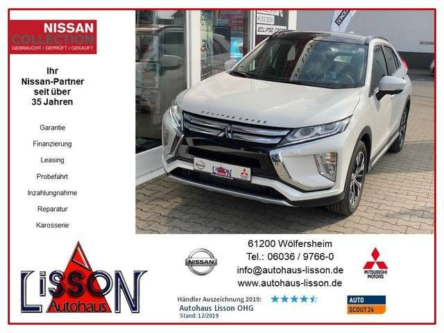 Eclipse Cross, 2.2 AT 4WD Top Leder, P-Dach, 360°