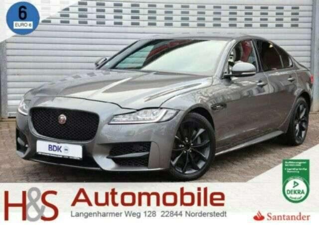 Jaguar, XF, 20d R-SPORT LEDER*V-COCKPIT*KAMERA*LED