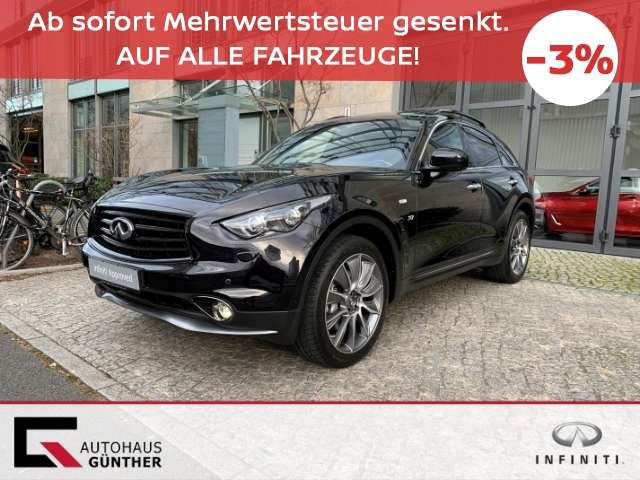 QX70, 3.7 V6 AWD Ultimate Edition in Vollausstattung