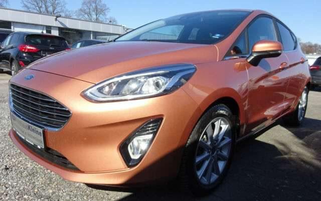 Fiesta, Titanium Autom. Navi+Parkpilot+Winterpak.