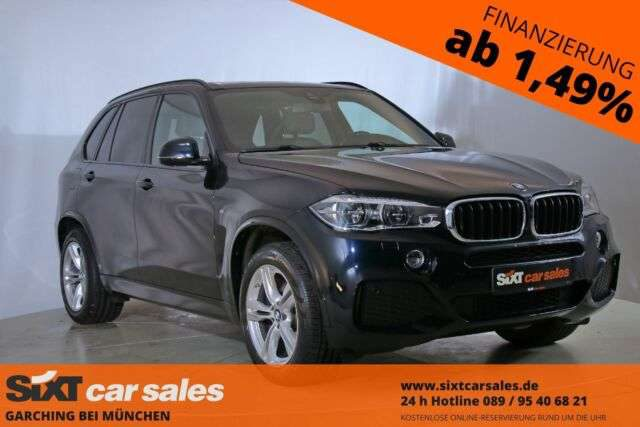 BMW, X5, xDrive30d M Sport|NAV|HUD|LEDer|PANO|RFK|19