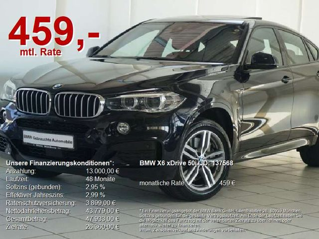 X6, xDrive 50i M Sport HuD/EGSD/Alarm/Soft Close/