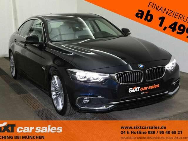 BMW, 420, Gran Coupé 420d Gr Coupe Luxury|LEDer|PDC|NavPro|D