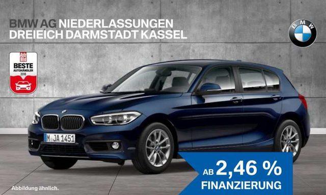BMW, 118, d 5-Türer Advantage LED Navi Bus. Tempomat